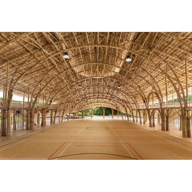 Bamboo Sports Hall for Panyaden International School
