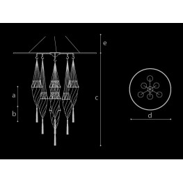 Archeo Venice Design 101.DBV7 Ceiling lamp