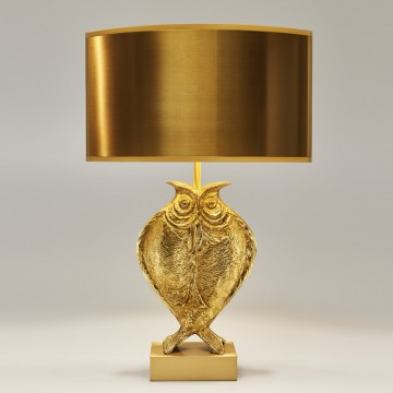 Charles Paris Chouette 2150-0 Table Lamp