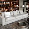 Flexteam Extra Norman Sofa in Grey Fabric