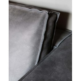 Flexteam Sofa Terminal Gold Nabuck Leather