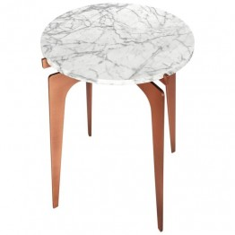 Gabriel Scott Prong Round Side Table