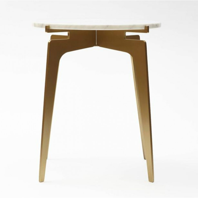 Prong Round Side Table