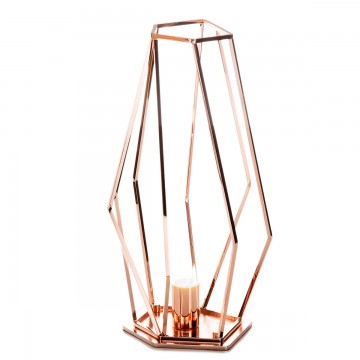 IDL Metal Rock Table Lamp 571/1LP