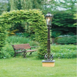 Robers Noble Hand-Forged Pedestal Light AL 6626