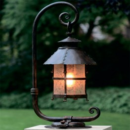 Robers Outdoor Pedestal Lamp AL6001
