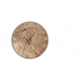 Titanium wall clock Reflex Design