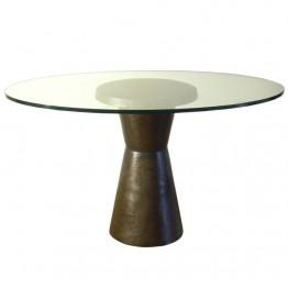 Corbin Bronze Drum Table Tall T2410