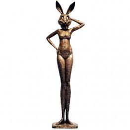 Corbin Bronze Sculpture Bikini Bunnee