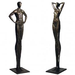 Corbin Bronze Sculpture Female Reveal