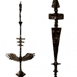 Corbin Bronze Sculpture Woman's Rites Totem