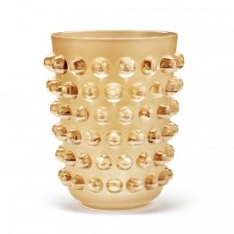 Lalique Mossi Gold Luster XXL Vase