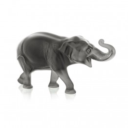 Lalique Grey Sumatra Elephant, Limited Edition of 288 Pieces