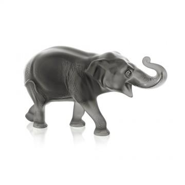 Lalique Grey Sumatra Elephant, Limited Edition of 288 Pieces