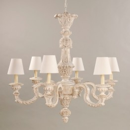Vaughan Carbonne Ivory Chandelier CL0026.IV