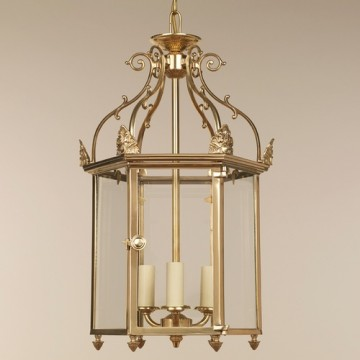 Vaughan Carlton Hall Lantern CL0349.BR