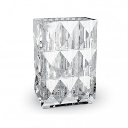 Baccarat Louxor Vase Diamond Surface