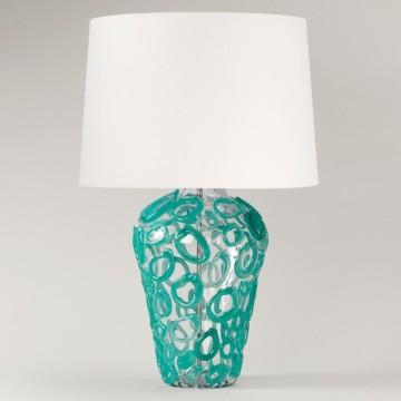 Vaughan Davos Glass Lamp TG0070.TU