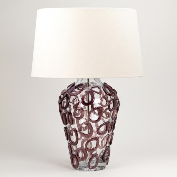 Vaughan Davos Glass Lamp TG0070.AM