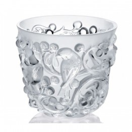 Lalique Avallon Clear Vase