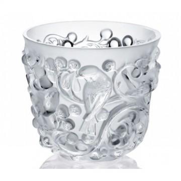 Lalique Avallon Clear Vase