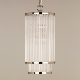 Vaughan Thirsk Glass Rod Ceiling Light CL0207.NI