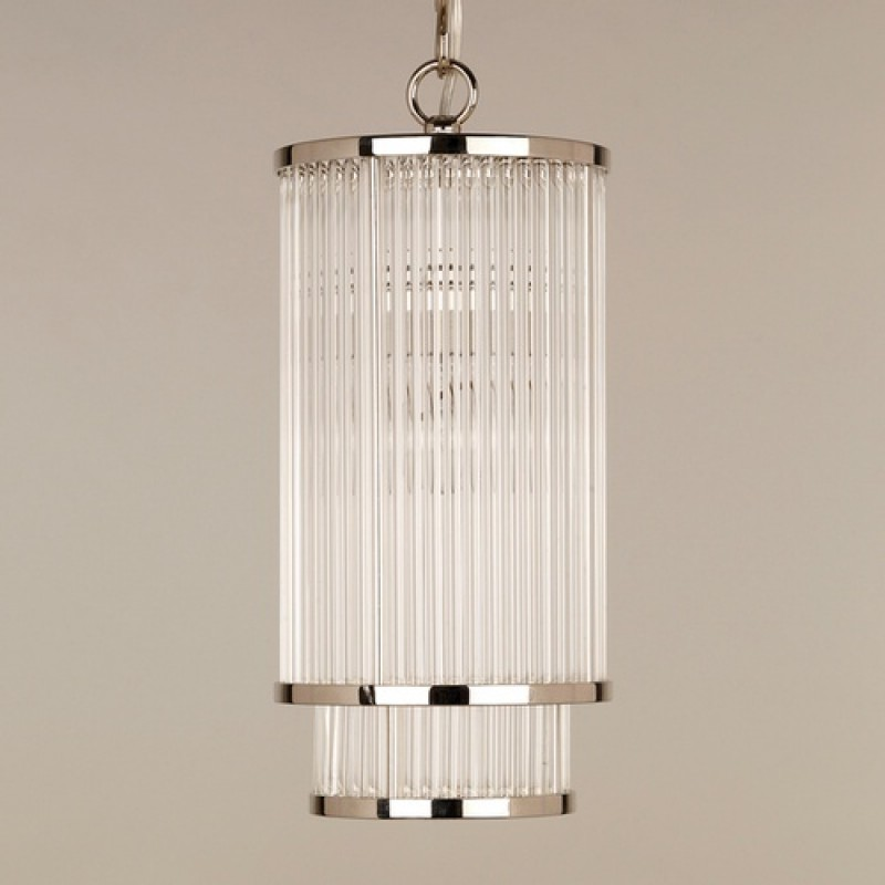 Vaughan Thirsk Gl Rod Ceiling Light Cl0207 Ni