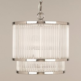 Vaughan Ripon Glass Rod Ceiling Light CL0210.NI