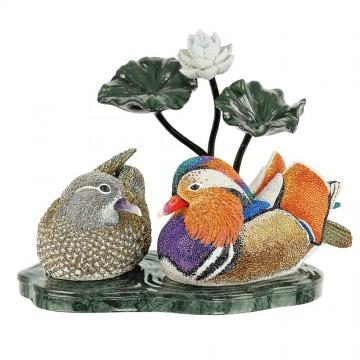 Swarovski Crystal Myriad Mandarin Ducks