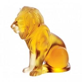Lalique Amber Bamara Lion