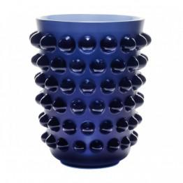 Lalique Mossi Midnight Blue Vase