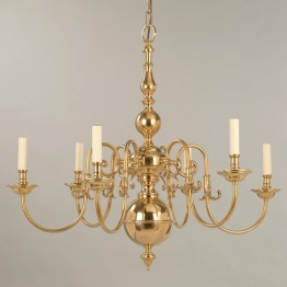 Vaughan Dutch Chandelier 6 Light CL0002.BR