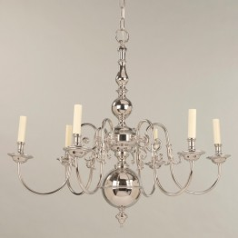 Vaughan Dutch Chandelier 6 Light CL0002.NI