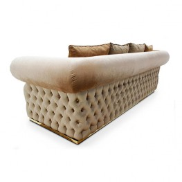 Seven Sedie 3 Seater sofa Viola