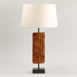 Vaughan Ashanti Wooden Table Lamp TW0039.BZ