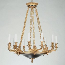 Vaughan Serrant Empire Chandelier CL0247.BK