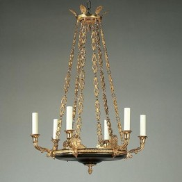 Vaughan Serrant Empire Chandelier CL0047.BK