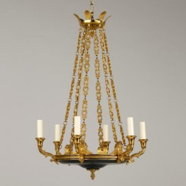 Vaughan Serrant Empire Chandelier CL0047.GR