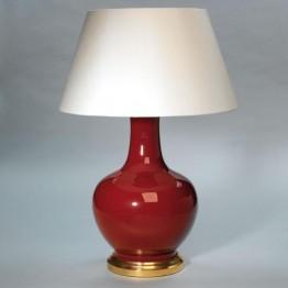 Vaughan Globular Sang de Boeuf Vase TC0040.GI