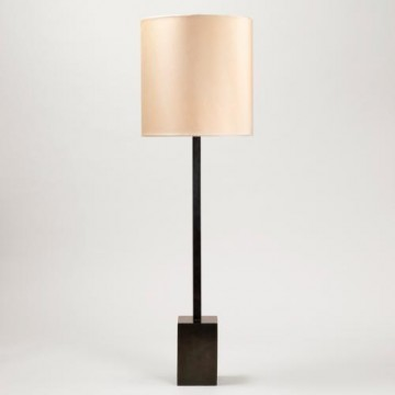 Vaughan Cleveland Square Column Table Lamp TM0083.BZ