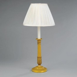 Vaughan Bourges Candlestick Table Lamp TM0037.GI
