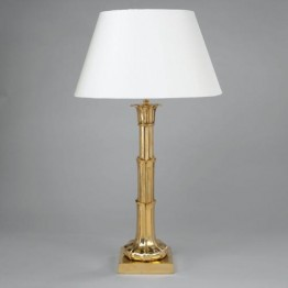 Vaughan Lotus Leaf Column Table Lamp TM0032.BR
