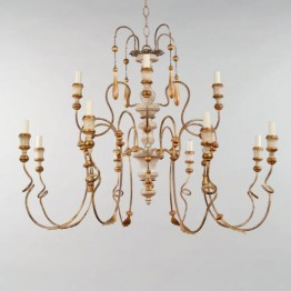 Vaughan Large Figeac Chandelier CL0166.IV