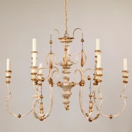 Vaughan Small Figeac Chandelier CL0266.IV