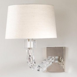 Vaughan Ryde Glass Cube Wall Light