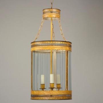 Vaughan Granby Round Fretwork Lantern CL0182.YE