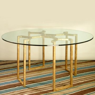 Vaughan Heale Gilt Metal Round Table FT0067.GI.GL