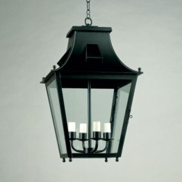 Vaughan Edgecote Lantern, External CL0092.BK.SE