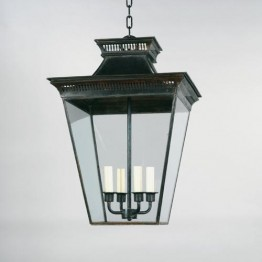 Vaughan Mottisfont Porch Lantern, External CL0130.BZ