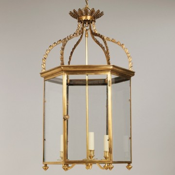 Vaughan Regency Hall Lantern CL0232.BR
